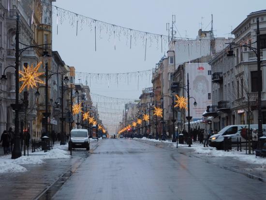 Picture Of Piotrkowska Street, Lodz