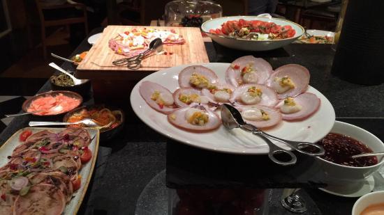 seafood buffet fare picture of the promenade cafe hyatt hotel rh tripadvisor com au