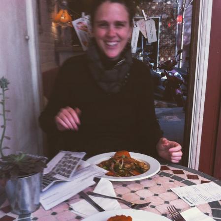 Restaurante Biocenter: También te puedes sentar en la terraza :)