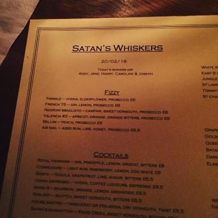 photo1.jpg - Foto di Satan's Whiskers, Londra - TripAdvisor