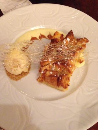 NECI on Main: Maple bread pudding