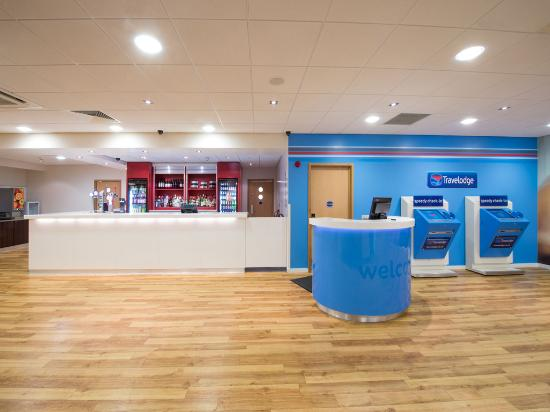 Travelodge Manchester Piccadilly Hotel: Reception