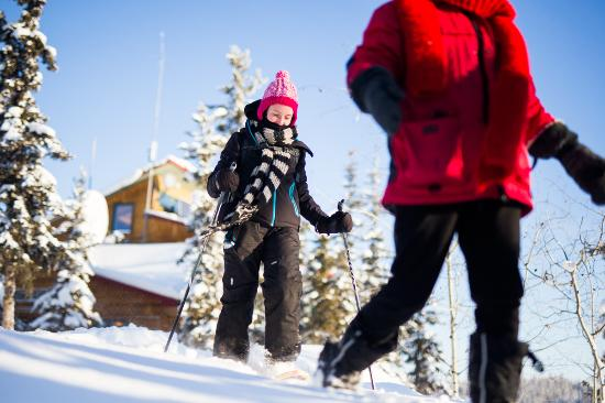 Blachford Lake Lodge: Cross Country Skiing