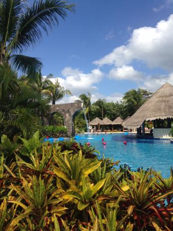 pool on valentine s day picture of valentin imperial riviera maya rh tripadvisor com