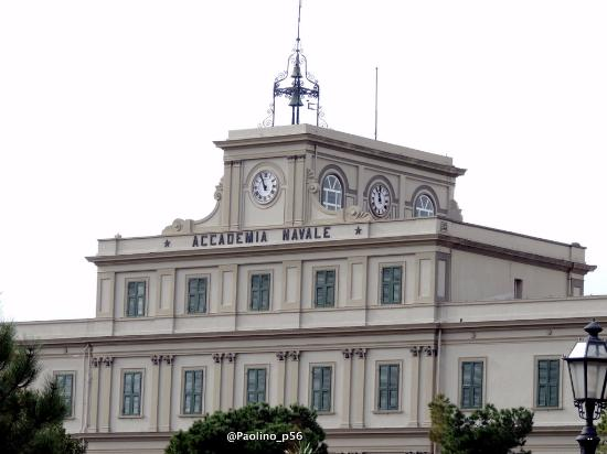 Palazzo dell'Accademia Navale: Particolare