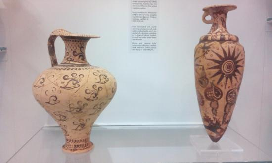 Ancient Vases Picture Of Heraklion Archaeological Museum