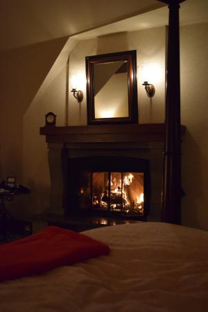 In Room Fireplace So Romantic Picture Of Hotel Quintessence Mont Tremblant Tripadvisor