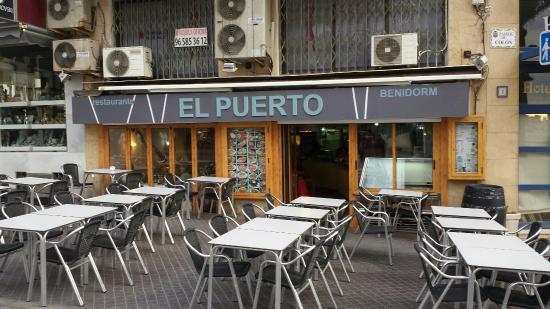 Restaurante restaurante marisqueria el puerto en benidorm con cocina mediterr nea - Restaurante el puerto benidorm ...