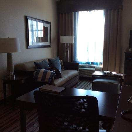 Homewood Suites by Hilton Houston - Woodlands: Seating area