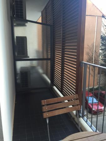 Hotel La Rotonde: Balcon
