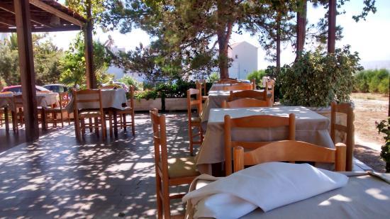 Chorafakia, Grecia: Local taverna