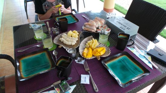 San Jose, Filipinas: petit déjeuner
