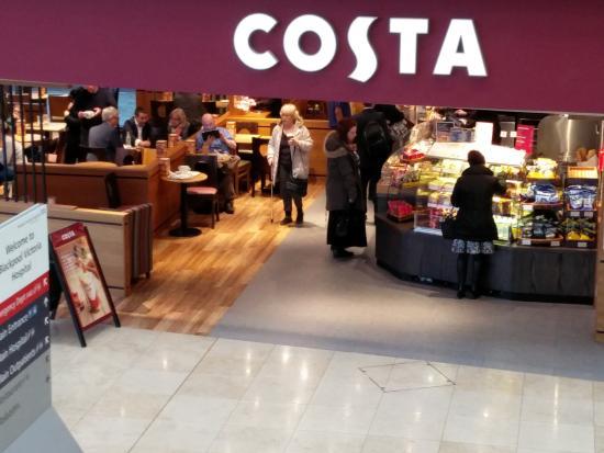 Costa Coffee Blackpool Victoria Hospital Whinney Heys Rd