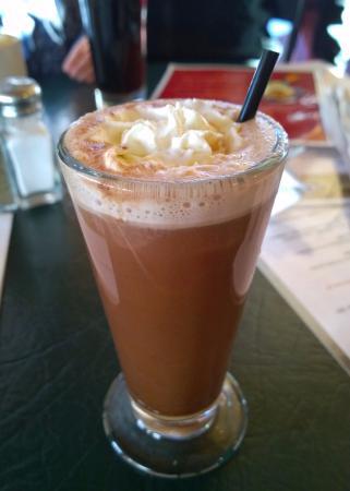 Masa's Bar & Grill: Boozy hot chocolate at Masa's Bar and Grill