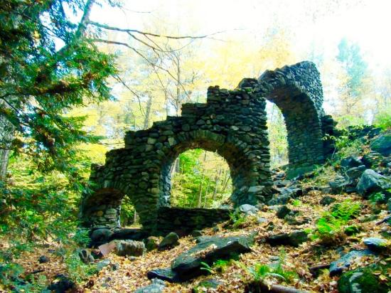 West Chesterfield, NH : Madame Sherri's Stairway