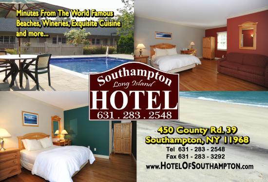 Southampton Long Island Hotel: POSTCARD