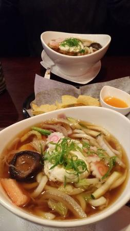 Portage, Μίσιγκαν: Chicken Udon Soup & Shrimp Udon Soup