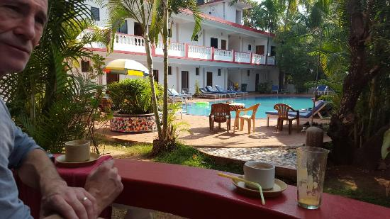 Anjuna Beach Resort: 20160111_100234_large.jpg