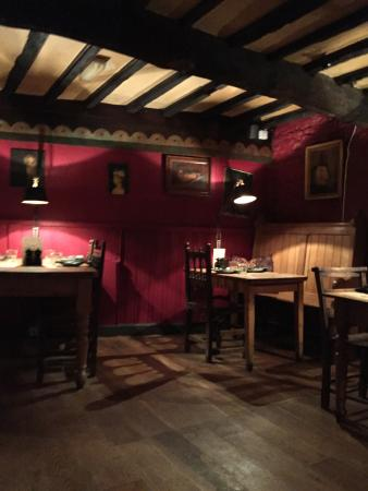 Wild Duck Inn: Part of dining room.