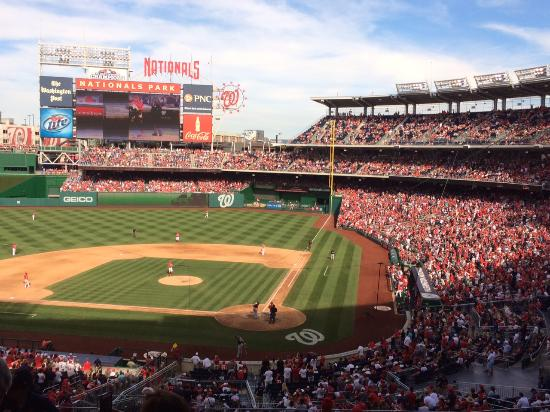 view from box seats over home plate picture of nationals park rh tripadvisor com