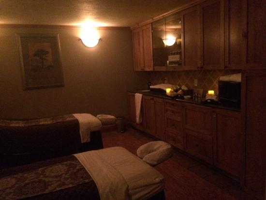 Serenity Spa by Westgate: Beautiful treatment room