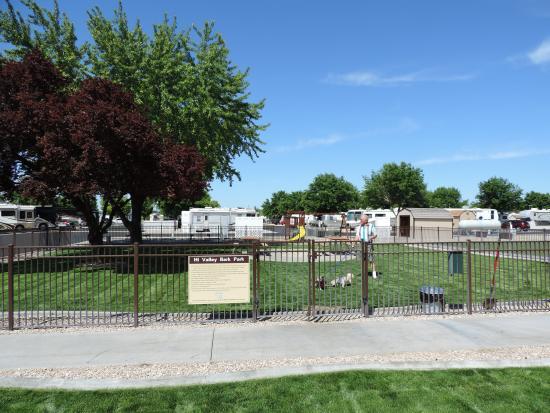 Hi Valley RV Park: Off-Leash Bark Park