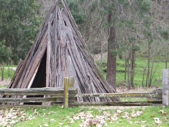 Home of the miwok people picture of marshall gold for Marshalls cedar park