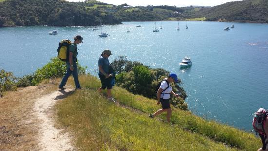 Isla Waiheke, Nueva Zelanda: Stunning coastal tracks