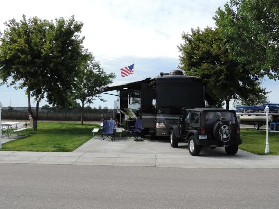 Mountain Home RV Park Space