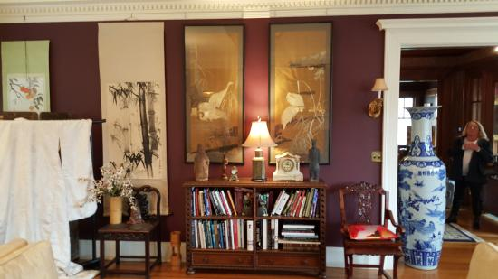 Portland Mayor's Mansion : A panorama of the Parlor - 3