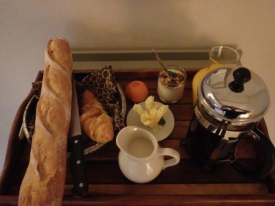 La Haye-du-Puits, Francia: ontbijt