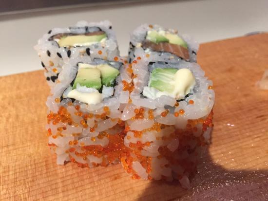 City Miyama Restaurant : California roll.