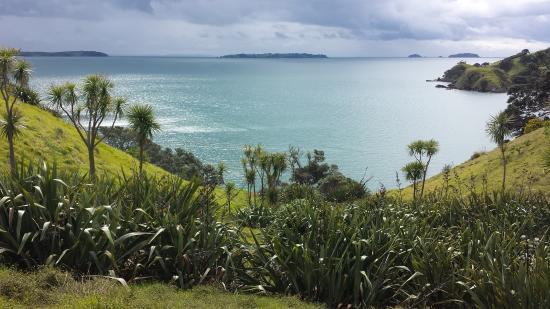 Isla Waiheke, Nueva Zelanda: Views out to the Hauraki Gulf