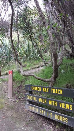 Isla Waiheke, Nueva Zelanda: Tracks and trails lace across and around the Island
