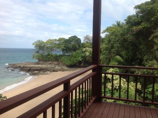Isla Saboga: Dalla terrazza del B&b