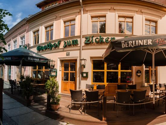 Zum Zicken-Schulze : Eingang zum Restaurant