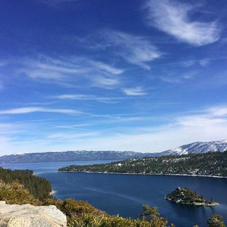South Lake Tahoe, CA: The view Uphil.