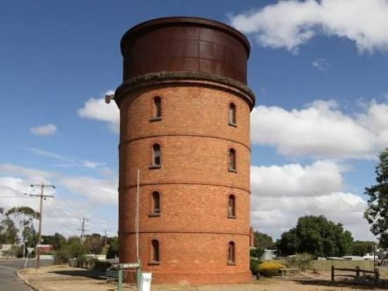 Murtoa, Australia: Great taxidermy collection. Lovely looking old tower