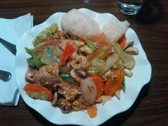 Thai crystal: Looks good but had no taste