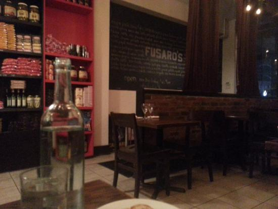 Photo of Italian Restaurant fusaros at 147 Spadina Avenue, Toronto M5V 2L7, Canada