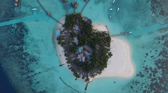 Thulhagiri Island Resort: Arial view primary