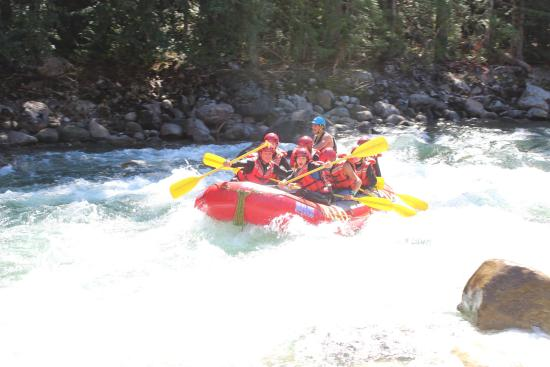 North Bend, Canadá: rafting adventure