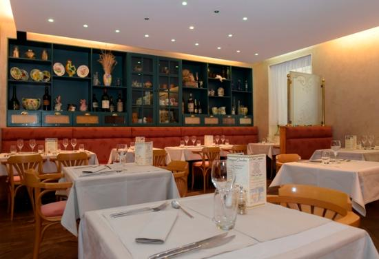 Hôtel Les Pages : Restaurant Le Petit Comptoir