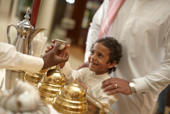 Movenpick Hotel & Residences Hajar Tower Makkah: Arabic cofee