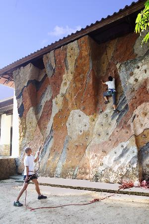 Aryaduta Lippo Village: Wall Climbing