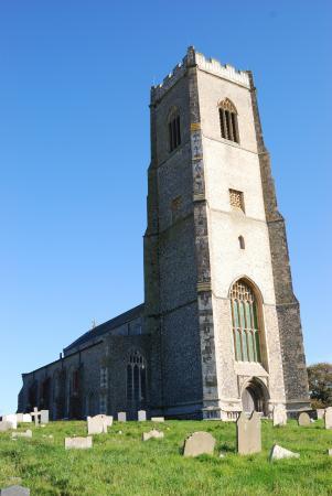 Happisburgh, UK: St. Mary's Church,  Happisburgh