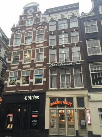 buitenkant picture of damrak inn hotel amsterdam amsterdam rh tripadvisor co za