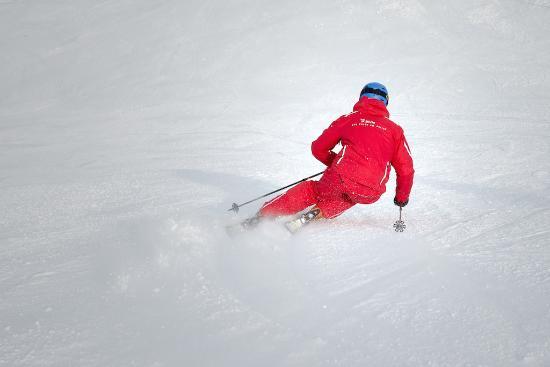 Bivio, Suiza: Skifahren