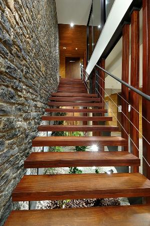 Hotel Riberies: Riberies, escalera principal