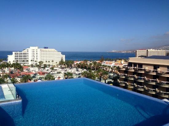 Romantic room on the forth floor over looking the pool - Hotel noelia tenerife ...